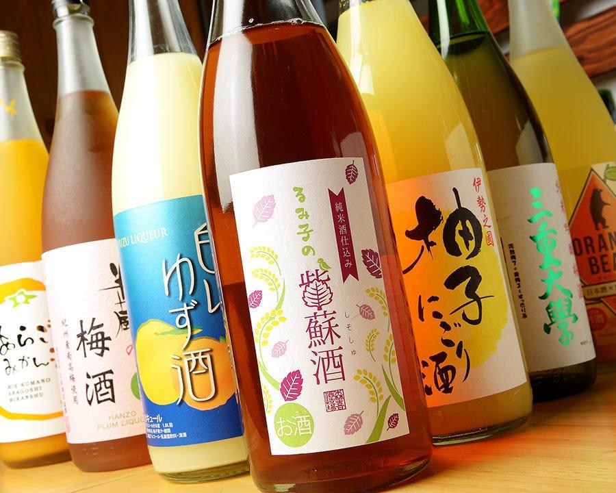 三重の日本酒・果実酒