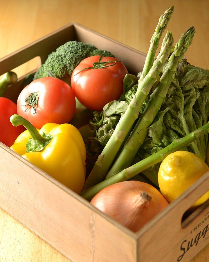 三重県産有機野菜