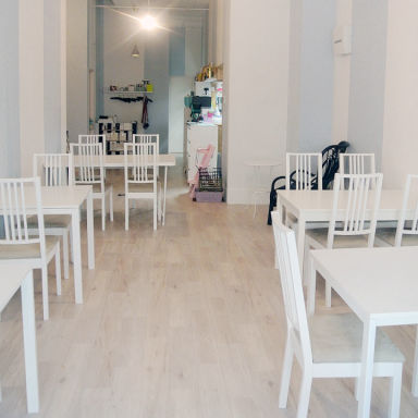 cafe Rei  店内の画像
