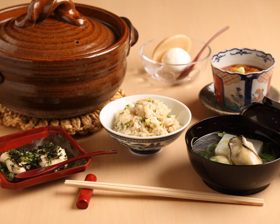季節のコース料理 4,000円(税抜)