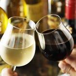 充実した飲み放題メニュー!人気の72種類をお好みでお楽しみ下さい!
