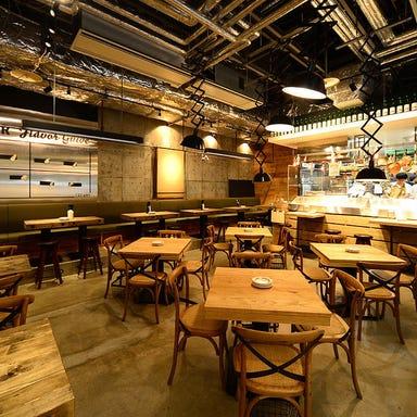 牡蠣ときどきサカナ メリケンサカナ 名駅店 店内の画像
