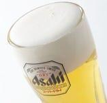 土間土間の生ビールは「王道」スーパードライ!