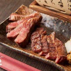 牛タンの食べ比べ