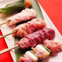 フレッシュ朝引き鶏の串焼き5本セット