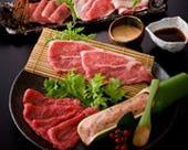お肉とお野菜盛り/しゃぶしゃぶ