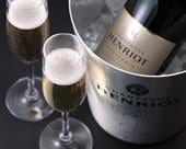 記念日の乾杯はシャンパンで