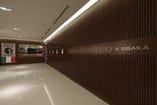 ルクア内御堂筋側のエレベーター上がってすぐ。