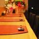 会話と食と目で楽しむカウンター席