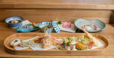 祇園 天ぷら晩餐  メニューの画像
