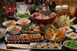 魚炉助宴会料理です