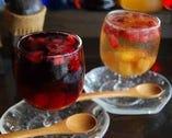 フローズンフルーツたっぷりのサングリア♪ワインと一緒に!