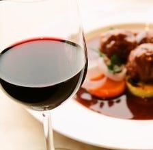 毎月ワインを楽しむ会を開催