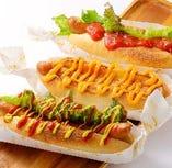 ホットドッグ《プレーン/サルサ/チーズ》