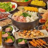 【楽しい宴会】 当店名物料理を堪能できる大満足の内容でお届け