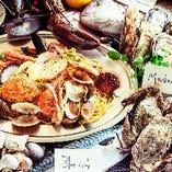 豪快漁師飯 名物パスタペスカトーレ