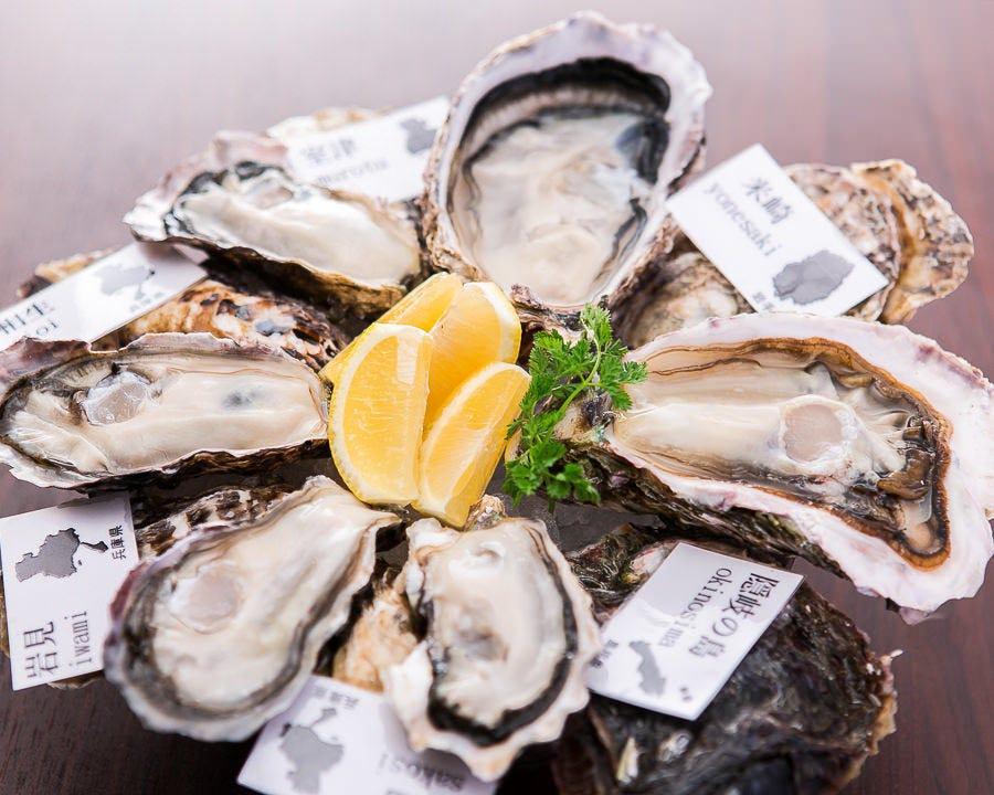 魚とワイン はなたれ The Fish and Oysters