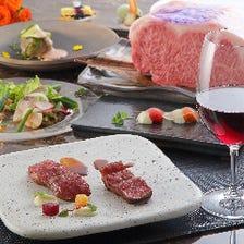 A5等級神戸牛食べ比べディナーコース