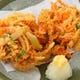 ●小柱と海老の旬野菜たっぷりかき揚げ ●旬の薫りたっぷり