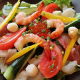 ●旬鮮魚たっぷりの名物サラダ!! ●ボリュームたっぷり!!