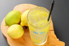 つぶつぶレモンサワー