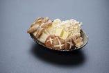 キノコ盛り合わせバター