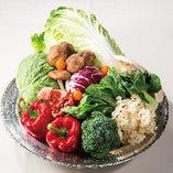 健康、安全、安心をモットーに国産減農薬野菜を使用【大阪 神戸 など】
