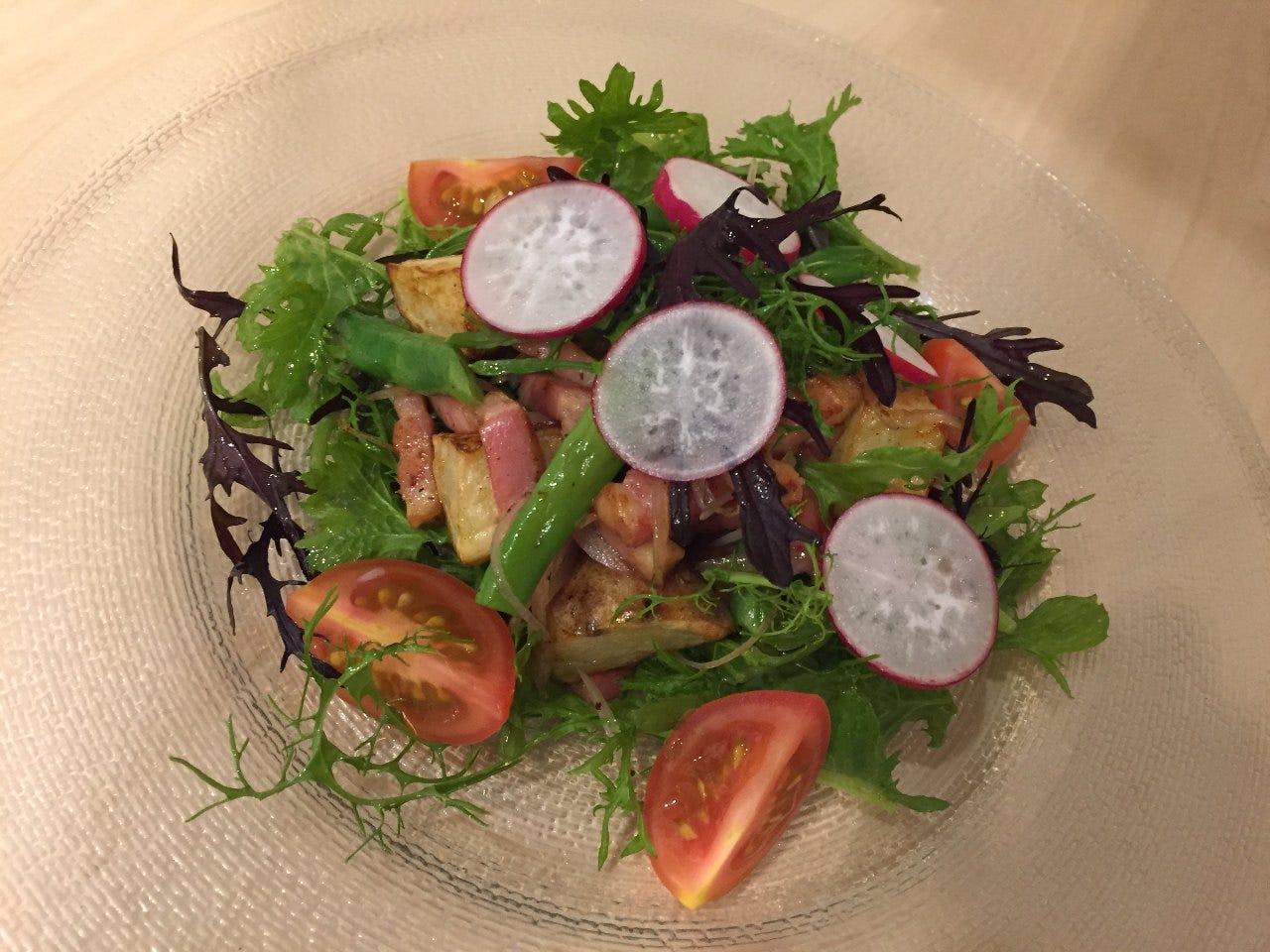 鎌倉野菜や三浦、湘南のこだわり食材を使用しております