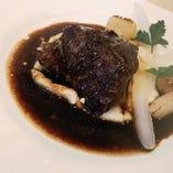 カルボナールフラマンド 和牛頬肉の黒ビール煮