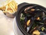 鎌倉野菜とムール貝のマリニエール