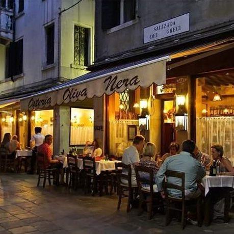 ヴェネツィアのOsteria Oliva Neraを再現
