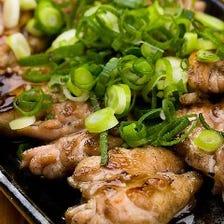 【丹波地鶏】せせり炙り焼き