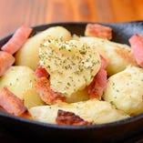 ほくほくのポテトとベーコンの絶妙なバランス「ポテトベーコンオーブン焼き」