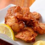 銘柄鶏の美味しさ「若鶏の唐揚げ」