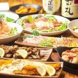 名物炙り焼き含む全8品のコースで鶏を堪能!飲み放題付4,500円~