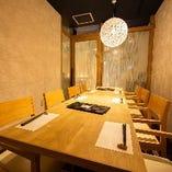 【完全個室】テーブル席