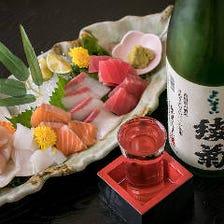 創作和食と地酒を気軽に楽しめる!