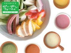 鎌倉野菜とチーズフォンデュ 上野ガーデンファーム 上野駅前店