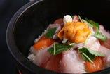石焼海鮮飯~特製胡麻味噌ソースで~