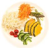 ジンギスカンの野菜は選択可能 ①抗酸化②疲労回復③デトックス