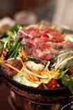 お肉が美味しいから、 野菜もどんどん食べられます。