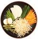 ジンギスカンのお野菜、こちらは疲労回復に働く「活」セット。