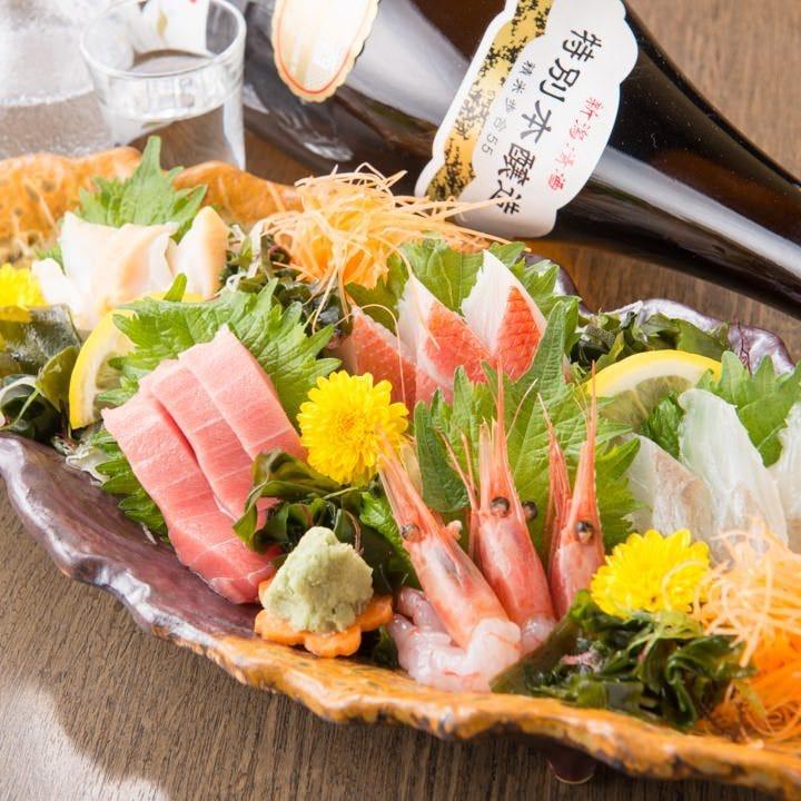 ◆鮮度抜群!近海地魚の海鮮料理!
