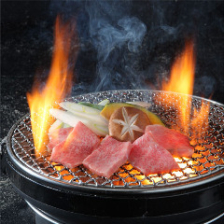 炎と味わう美味の共演