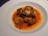長崎県産鮮魚 アサリとトマトの煮込み