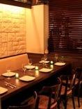 【プレミアム宴会】ブラインドで仕切られた半個室でイタリアン