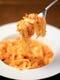 イチオシ人気のパスタ【ズワイ蟹】のトマトクリームソース