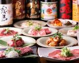 お肉に合うドリンク多数!肉専用ワインや、焼酎・日本酒など。