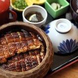 名古屋といえばひつまぶし。 1品で3通りの美味しさ。
