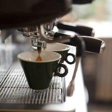 コーヒーからアルコールまで◎